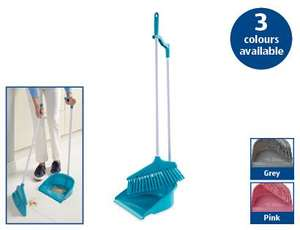 Long Handled Dustpan and Brush @ Aldi 14th July