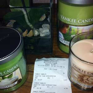 Yankee candles @ boundary mill