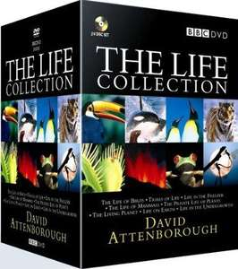 The Life Collection: David Attenborough (24 Disc BBC Box Set) [DVD] [1990] for £42 @ Amazon