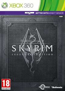 The Elder Scrolls Skyrim - Legendary Edition (Xbox 360/PS3) £25.00 & PC Version £15.00 + Free Delivery @Game.co.uk