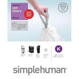 Simplehuman Bin Liner Code K Bulk Pack of 50 @Amazon - £13.99