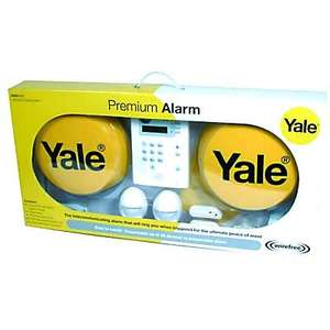 Yale Premium wireless Alarm kit £162 Free P&P with Next Day Delivery @ ironmongerydirect