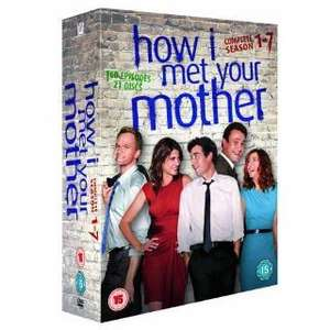 How I Met Your Mother Seasons 1-7 DVD Box Set £39.48 Using A Code @ Tesco Direct