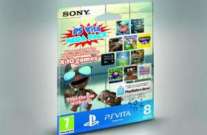 PS Vita Mega Pack (Includes 10 Games and 8GB Memory Card) £25.99 @ zavvi.com