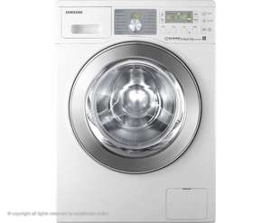Samsung WD0804W8E EcoBubble Washer/Dryer 5yr warranty + free tablet £525 Tesco Direct