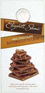 Completely free bar of Elizabeth Shaw Milk Chocolate Butterscotch Crisp (100g) at Sainsburys. with voucher