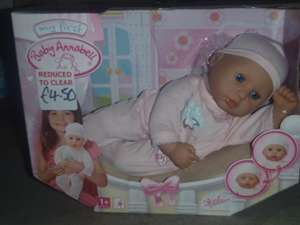My First Baby Annabell £4.50 at B&M Bargains Instore