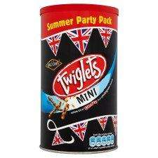 Jacobs Twiglets Mini 200g caddy £0.50 - Tesco