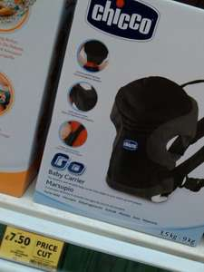 Chicco Go Baby Carrier £7.50 Tesco instore half price