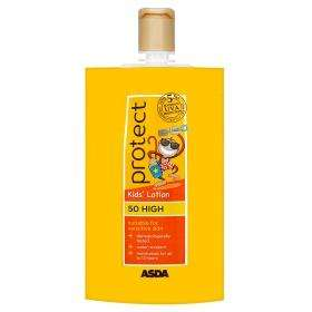 ASDA Protect Kids Sun Cream Lotion SPF 50 High £1.00