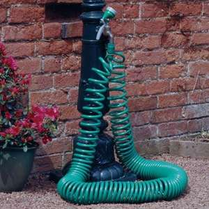 100FT 30M METRE RETRACTABLE COIL HOSE GARDEN HOSE PIPE + SPRAY WATER GUN £11.99 @  homes-store  Ebay, Free Delivery