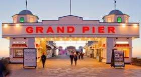 Weston-Super-Mare grand pier ride wristbands £12.50 each