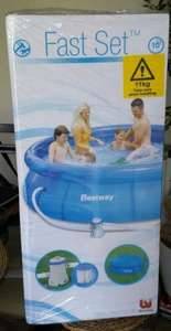 Bestway 10ft Fast Set Pool - Instore B&Q half price £30