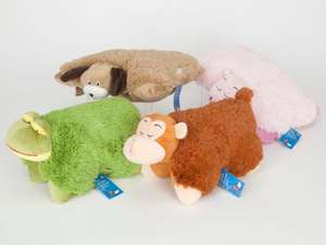 ASDA Cuddle Cushion/Pillow Pet now £3.00 del to store/instore @ Asda