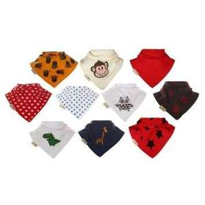 10 Funky Giraffe bandana bibs £11.00 Sold by Maia's and Fulfilled by Amazon.