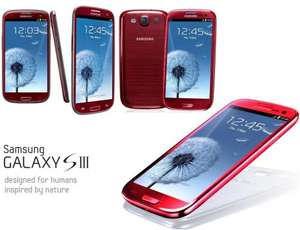 Samsung Galaxy S3 Red/White/Blue ... Sim Free ... £287.95 (£6 Quidco Cashback Potential) ... @ CPW