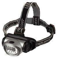 HEADTORCH / HEADLIGHT - 19 LED's ** PRO ELEC - with 4 modes delivered - £1.86 @ CPC Farnell