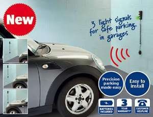 Garage Parking Sensor available from 21st July £14.99 @ Aldi