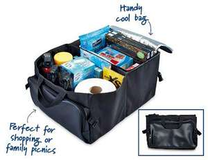 Boot Tidy with integrated Cool Bag available from 21st July  £4.99 at ALDI