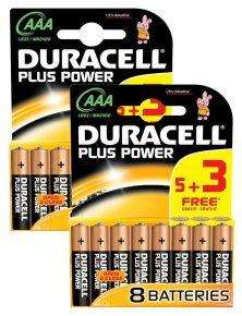 16 AAA Duracell Plus £3.99 delivered at Ebuyer....£1 cheaper than before