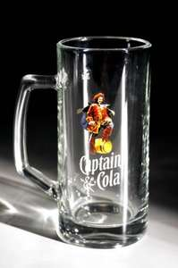 Free Glass Tankard with Captain Morgan Spiced Rum!