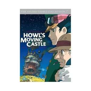 Howl's Moving Castle - DVD - £4.99 @ dvdgold.co.uk + FREE Delivery + 7% Quidco