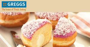 FREE Doughnut (Choc Lime, Banana Shake or Raspberry Coconut) using printable voucher @ Greggs