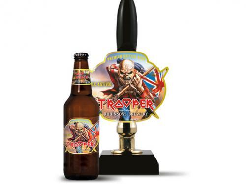 Iron Maiden Trooper beer 3 for £5 in Morrisons!
