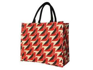 £4 Orla Kiely charity shopper bags - 50p goes to charity @ Tesco (instore only)