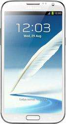 Samsung Galaxy Note II White three 2000 min, 5000 texts and unlimited data only £25 a month @ mobileshop.com