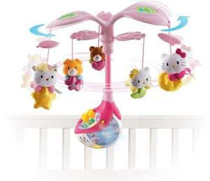 Vtech Hello Kitty Melody Cot Mobile (over 40 melodies) was £39 now £17.55 del @ Debenhams (using codes)