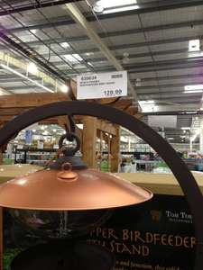 Tom Torrens Design - Copper Freestanding Birdfeeder Was £155.98  now £23.98 (Inc VAT) instore @ Costco