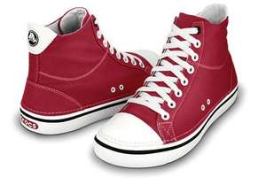 Crocs Mens/Womens Red Hover Mid Hi-tops / Sneakers - £11.99 - free delivery - Reduced from £49.99