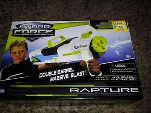 Hydro force rapture water gun £7.50 @ Smyths Toys instore