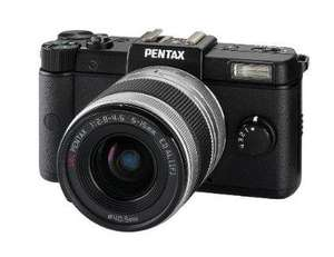 Pentax Q Compact System Camera - Black (12MP, 5-15mm Lens Kit) £149.99 delivered @ Amazon.WAS £319
