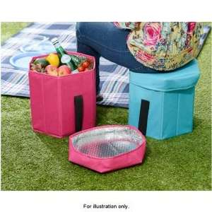 3in1 Folding Cooler Bag Seat £1.99 @ B&M