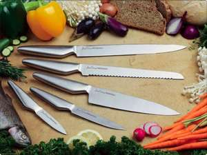 5 piece Professional Chef's Knife Set @jean-patrique-cookware - £13.98 Delivered