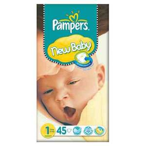 Pampers new born size 1 pack of 45 - £3.98 @ Asda instore