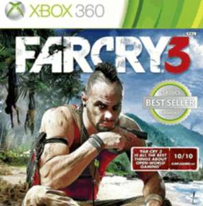 Farcry 3 NEW (360/PS3) ONLY £13 @ game.co.uk PC version only £12.85!