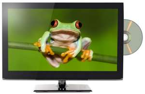 "Qantec 24"" Full HD LED Freeview TV WITH built-in DVD player for 109 @ ebuyer"
