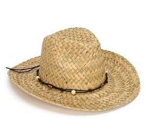 Ladies Straw Fedora Hat Cowboy Style One Size Fit's All  and mens Panama hats £4.99 @ The Suncare Shop
