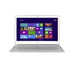 "ACER Aspire S7-391 Ultrabook (White) - (13.3"" 1080p IPS Touchscreen, Intel Core i5-3317U 1.7GHz, 4GB RAM, 128GB SSD, Win 8) £483.98 @ PC World / Currys"