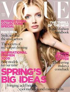 Vogue Magazine + Free Digital Editions - 12 months - 60% off £19 @ Bespoke offers
