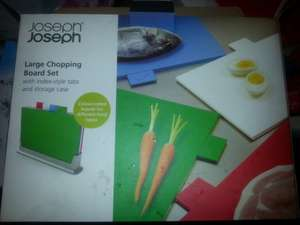 Joseph joseph large chopping board set £19.99 at Costco