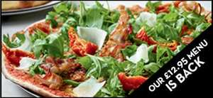 Pizza Express Weekend Special 3 courses - £12.95