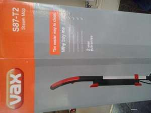 Vax S82 T2 steam mop £50 at Sainsburys