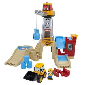 My 1st JCB On Site Talking Charlie Crane Playset now £14.99 del @ Amazon & Argos