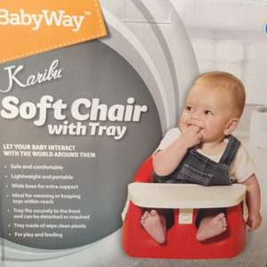 BabyWay Karibu Baby Soft Chair With Tray £6 at Morrisons