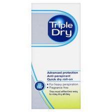 Triple Dry 72hr Anti-Perspirant Deodorant (HEAVY DUTY!) - £2.67/£3.66/£4.00 @ Tesco / Boots