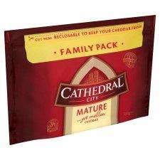 Cathedral City mature cheddar cheese 550g better than half price £3 (usually £6.99) @ Tesco